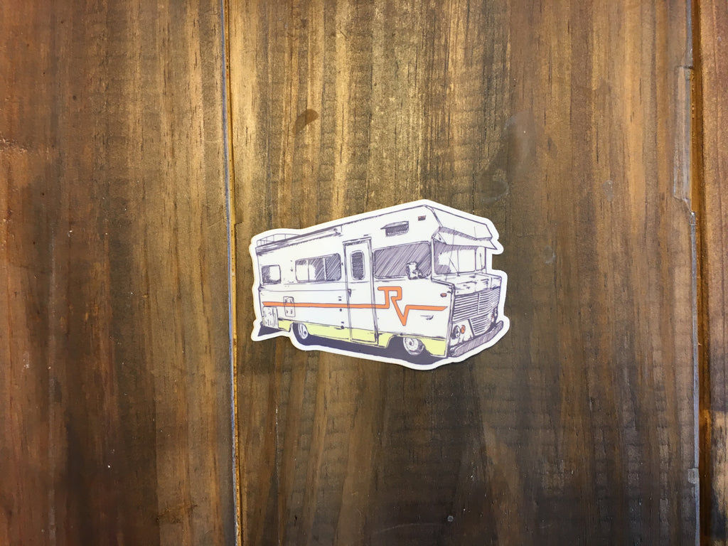 Winnebago Sticker - Roads & Views