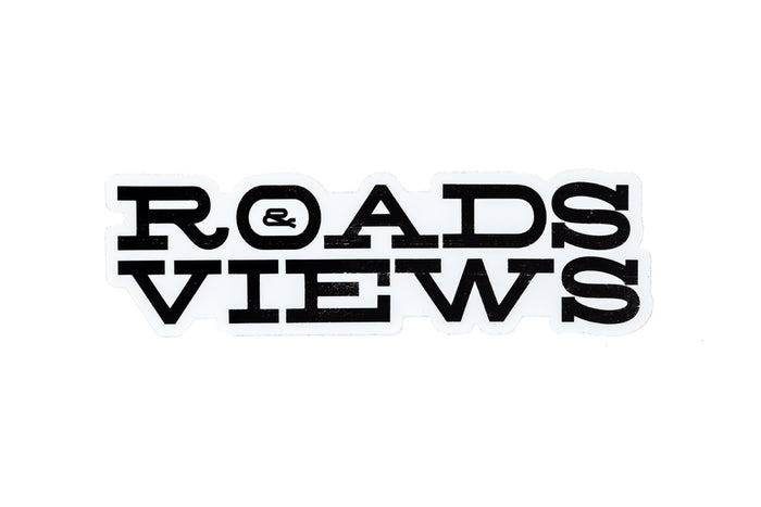 Roads & Views Logo Sticker - Roads & Views