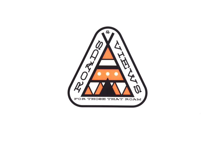 Teepee Sticker - Roads & Views