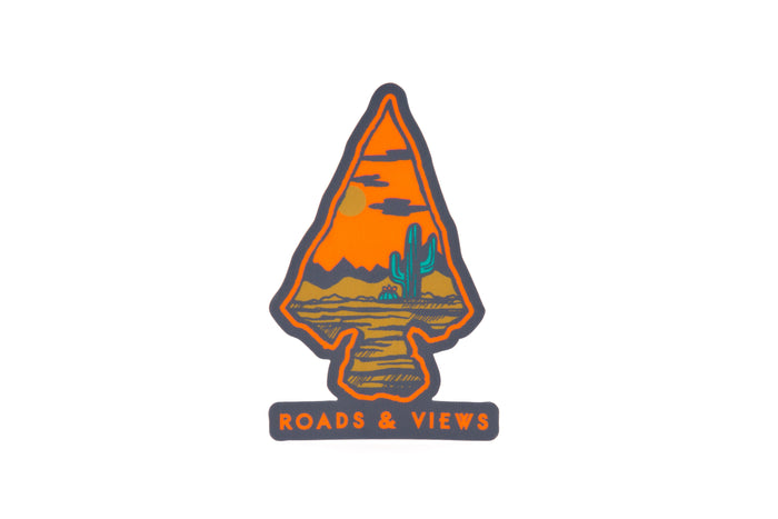 Arrowhead Sticker - Roads & Views
