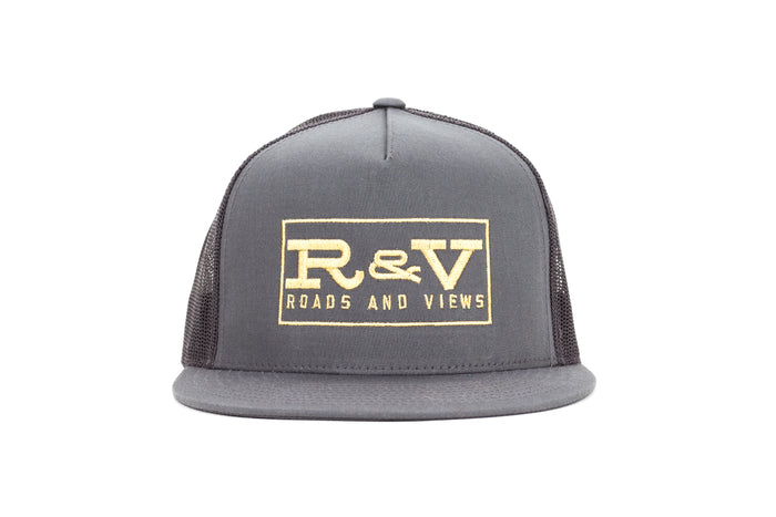 Classic Trucker - Charcoal - Roads & Views