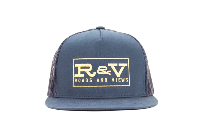 Classic Trucker - Navy - Roads & Views