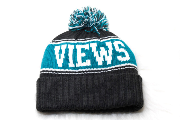 Pom Beanie - Teal - Roads & Views
