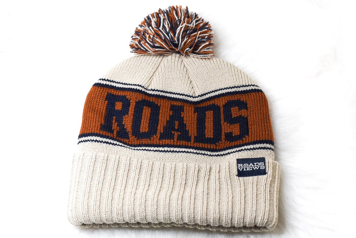 Pom Beanie - Tan - Roads & Views