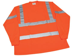 Ironwear Flame Resistant Long Sleeve Orange Safety Shirt - Workmans Industrial Wear, Fire Retardant Clothing, New and Used Clothing