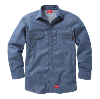 SNAP-FRONT SHIRT - Workmans Industrial Wear, Fire Retardant Clothing, New and Used Clothing