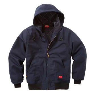 COTTON HOODED JACKET - Workmans Industrial Wear, Fire Retardant Clothing, New and Used Clothing
