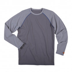 Wrangler® FR Flame Resistant Knit Baseball T-Shirt - Workmans Industrial Wear, Fire Retardant Clothing, New and Used Clothing