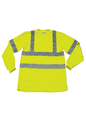 Ironwear Flame Resistant Long Sleeve Lime Safety Shirt - Workmans Industrial Wear, Fire Retardant Clothing, New and Used Clothing