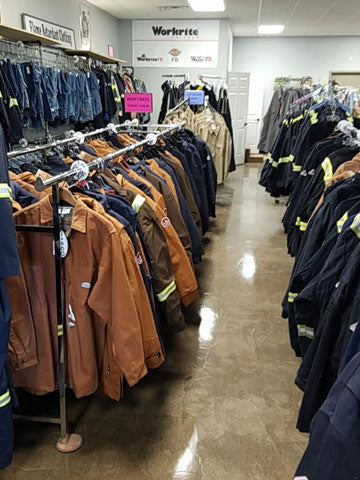 Used FRC Jackets - Workmans Industrial Wear, Fire Retardant Clothing, New and Used Clothing