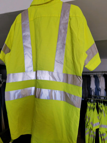 Used Hi Vis T Shirts - Workmans Industrial Wear, Fire Retardant Clothing, New and Used Clothing
