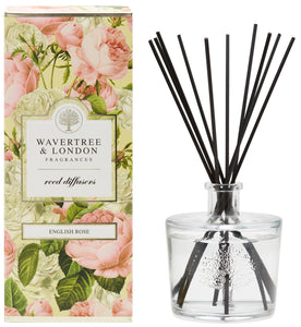 Wavertree and London Diffuser - English Rose