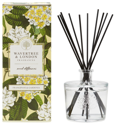 Wavertree and London Diffuser - Frangipani Gardenia