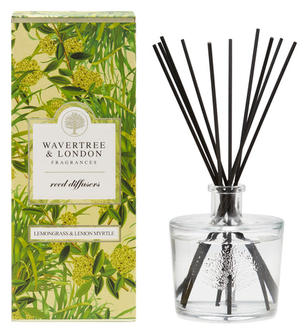 Wavertree and London Diffuser - Lemongrass & Lemon Myrtle