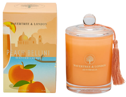 Wavertree & London Soy candle  - Peach Bellini