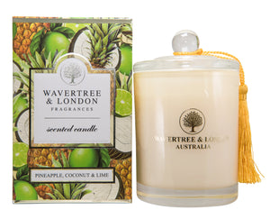 Wavertree & London Soy candle - Pineapple, Coconut & Lime