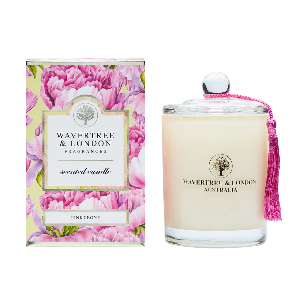 Wavertree & London Soy candle - Pink Peony