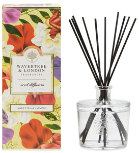 Wavertree and London Diffuser - Sweet Pea and Jasmine