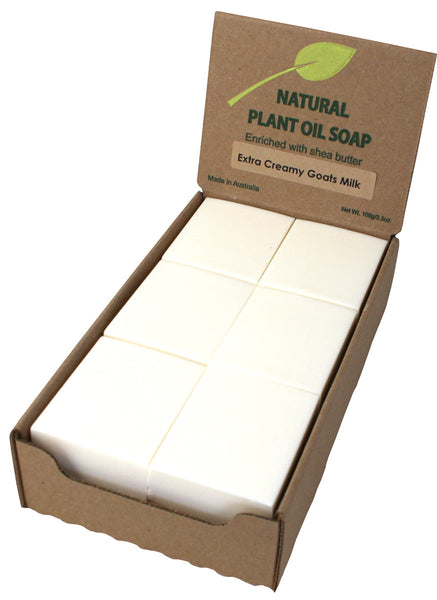 Extra Creamy Goats Milk Soap Unwrapped (12)