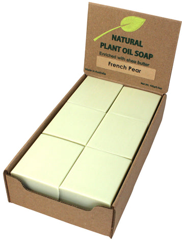 French Pear Soap Unwrapped (12)