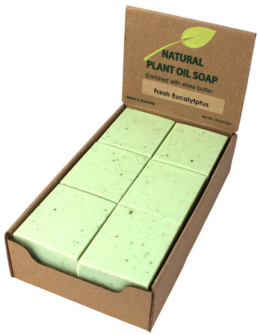 Fresh Eucalyptus Soap Unwrapped (12)