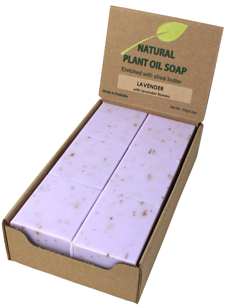 Lavender Soap with Flowers Unwrapped (12)
