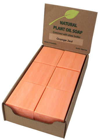 Orange Zest Soap Unwrapped (12)