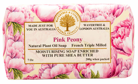 Pink Peony Soap (8)
