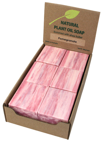 Pomegranate Soap Unwrapped (12)