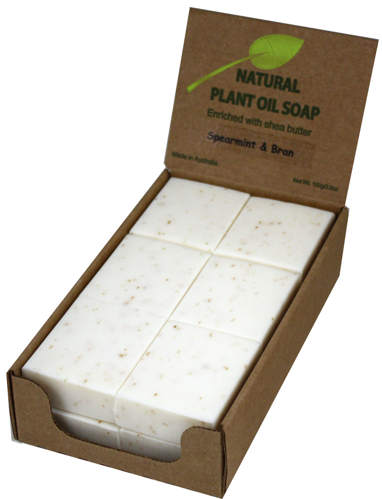 Spearmint & Bran Soap Unwrapped (12)
