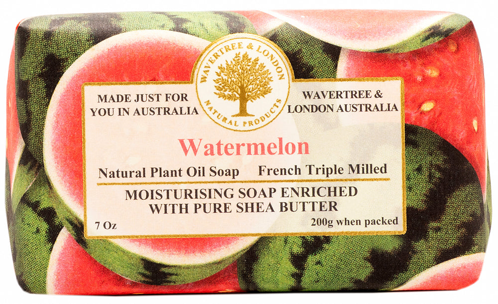 Pink Watermelon soap bar (1)