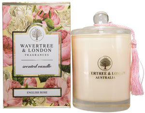 Wavertree and London Soy candle - English Rose