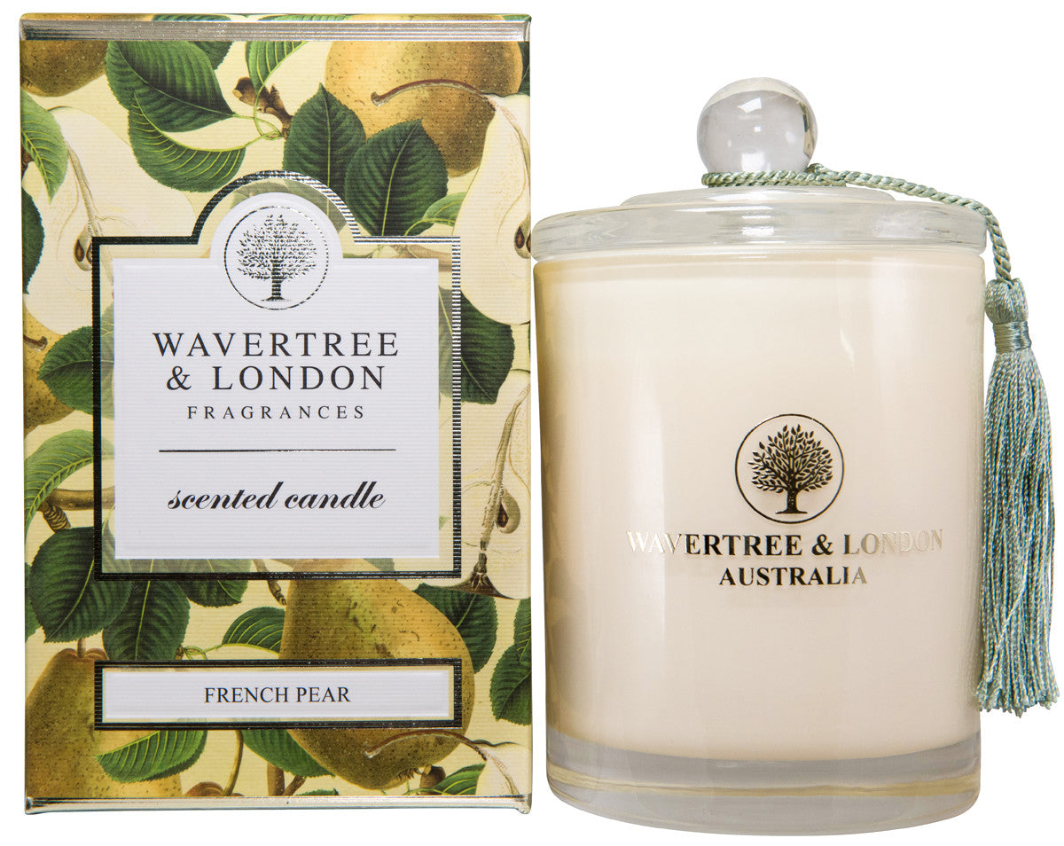 Wavertree and London Soy candle - French Pear