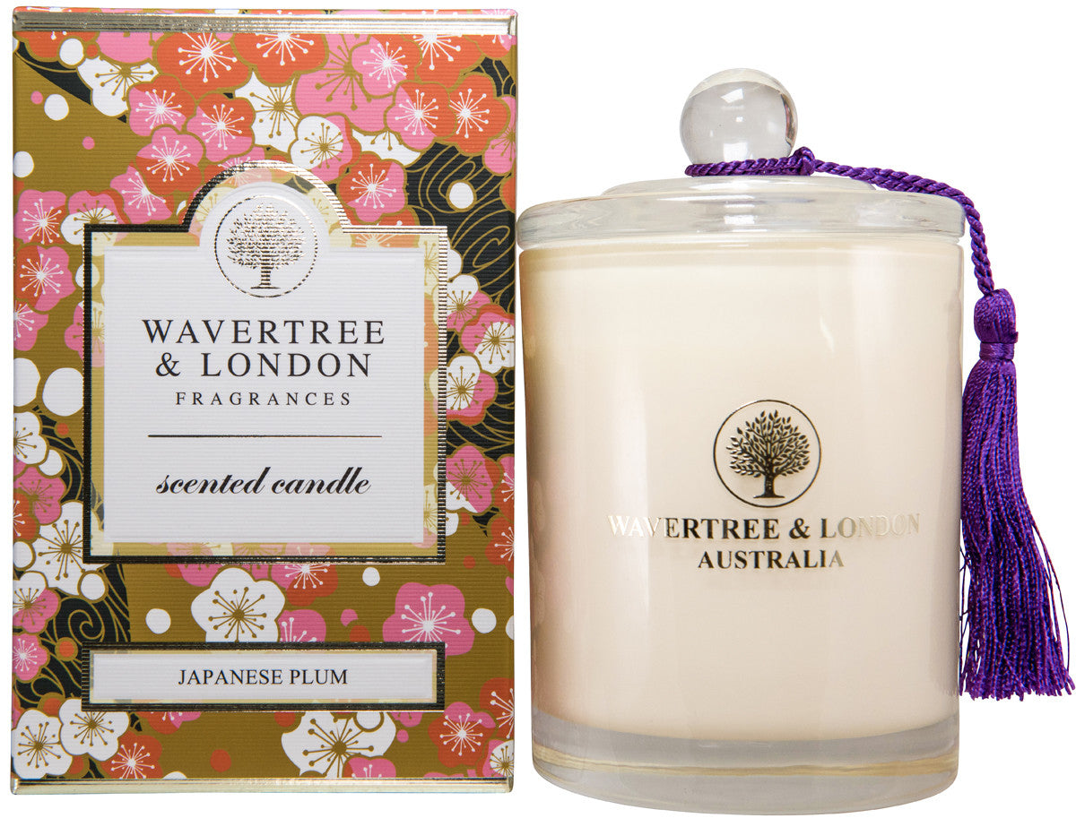 Wavertree and London Soy candle - Japanese Plum