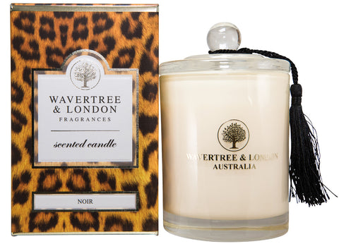 Wavertree and London Soy candle - Noir