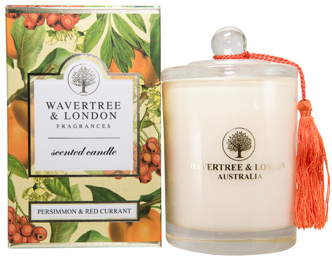 Wavertree and London Soy candle - Persimmon Red Currant