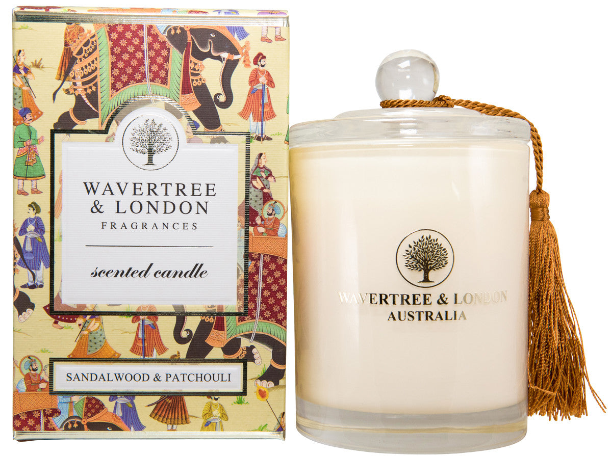 Wavertree and London Soy candle - Sandalwood Patchouli