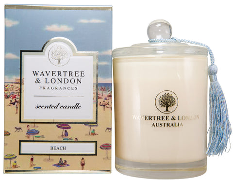 Wavertree and London Soy candle - Beach