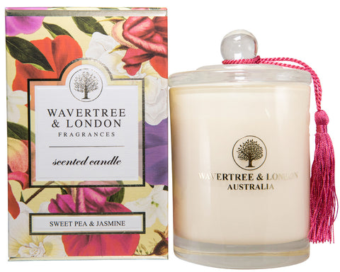 Wavertree and London Soy Candle - Sweet Pea and Jasmine