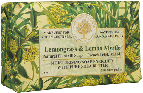 Lemongrass & Lemon Myrtle Soap (8)