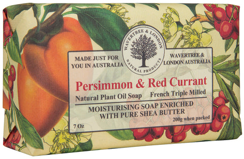 Persimmon & Red Currant Soap (8)