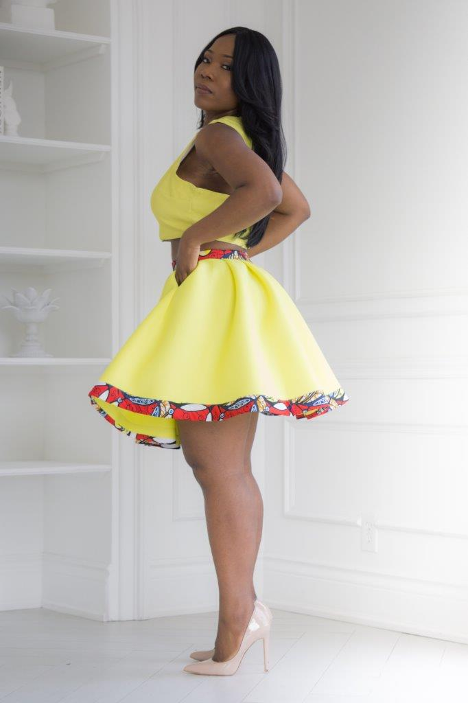Lemonade sorbet skirt
