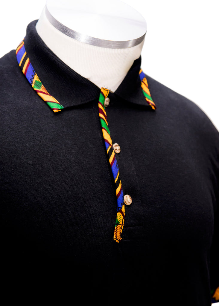The kente polo