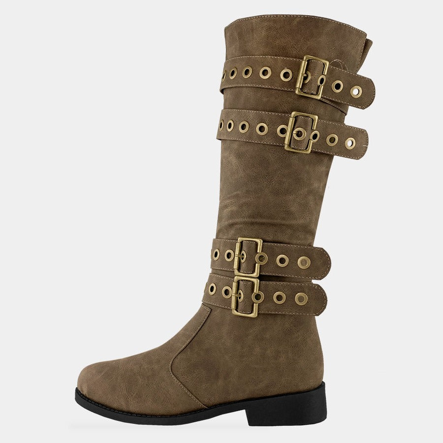 CROSSBY BOTAS DE NUBOCK COLOR CAFES