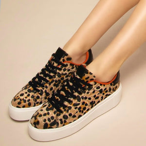 HANNAH - TENIS CASUALES ANIMAL PRINT