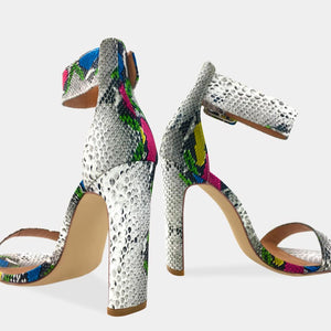 KIMBERLY - ZAPATOS ANIMAL PRINT SNAKE