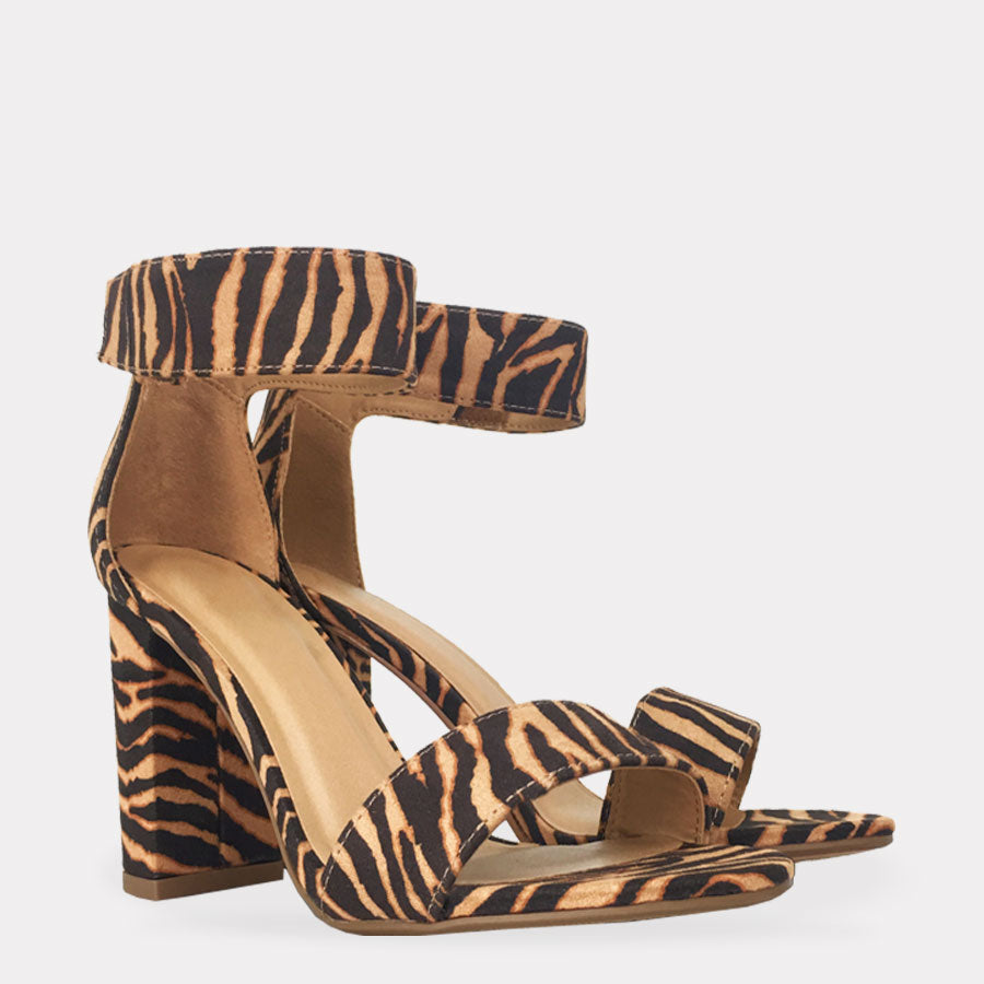 YORK - ZAPATOS ANIMAL PRINT DE LEOPARDO