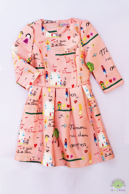 Mom tea party dress