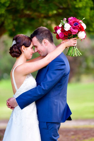 Flowers at Haberfield. West Pennant Hills wedding. Sydney wedding florist.