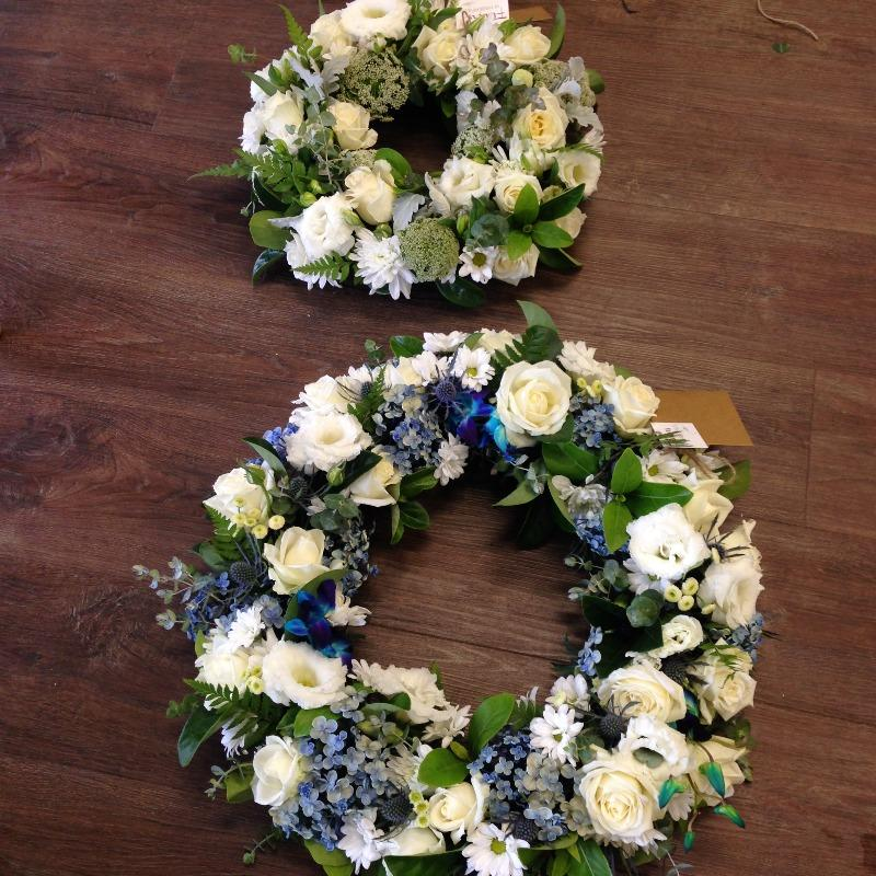 Funeral flowers - Wreath - My Beloved